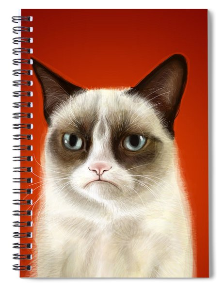 Grumpy Cat Spiral Notebook