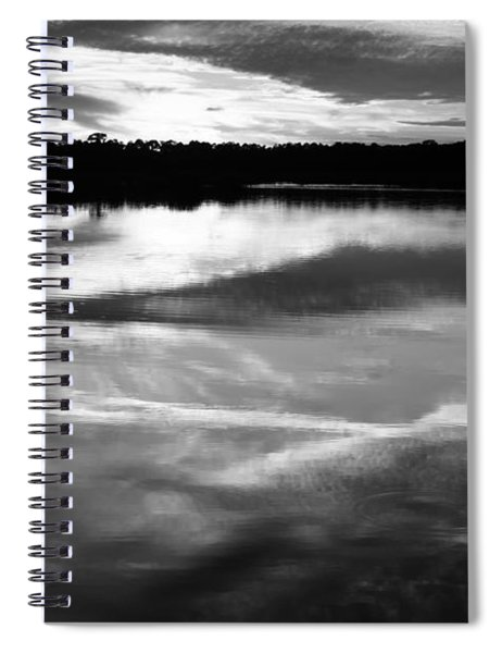 Guana Beach Reflections Spiral Notebook