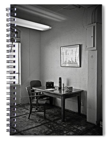 Guard Dining Area In Alcatraz Prison Spiral Notebook