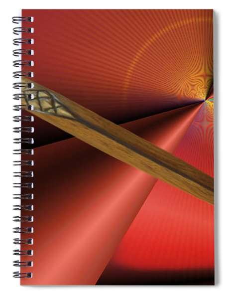 Guarded Heart Spiral Notebook