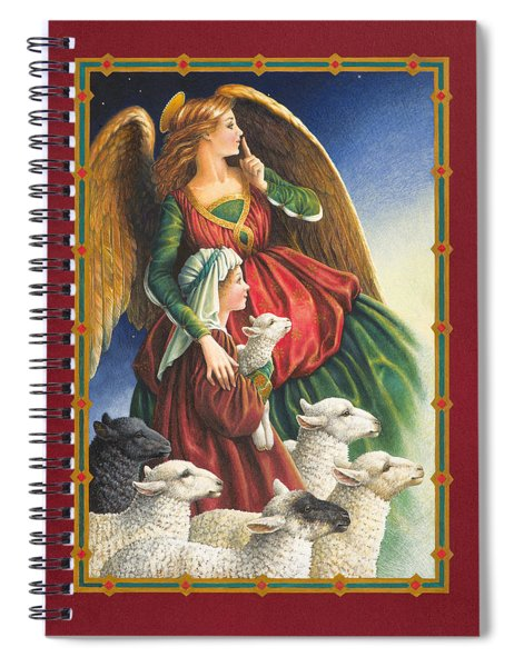Guardian Angel Spiral Notebook