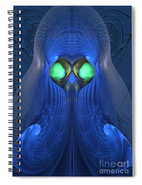 Guardian Of Souls Spiral Notebook