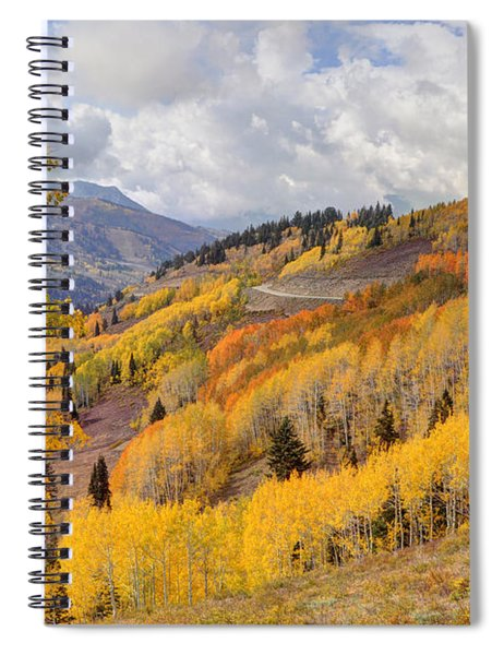 Guardsman Pass Aspen - Big Cottonwood Canyon - Utah Spiral Notebook