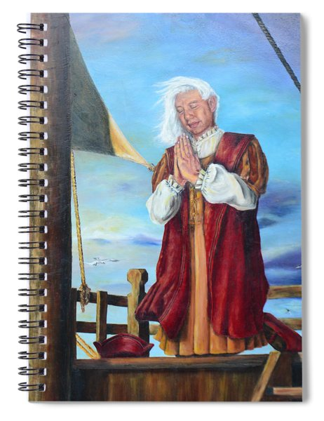 Guided By Divine Power Spiral Notebook
