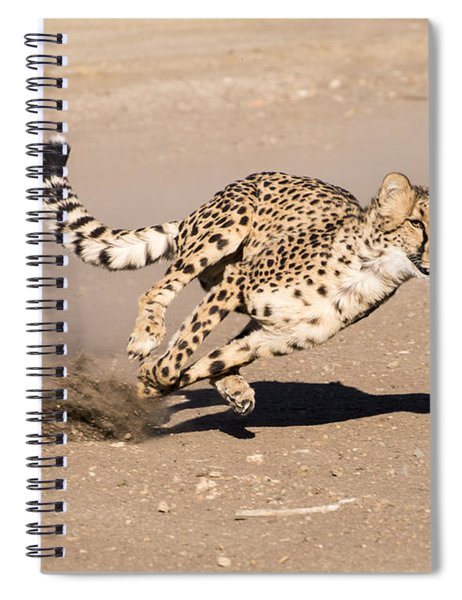 Guided Missile Spiral Notebook