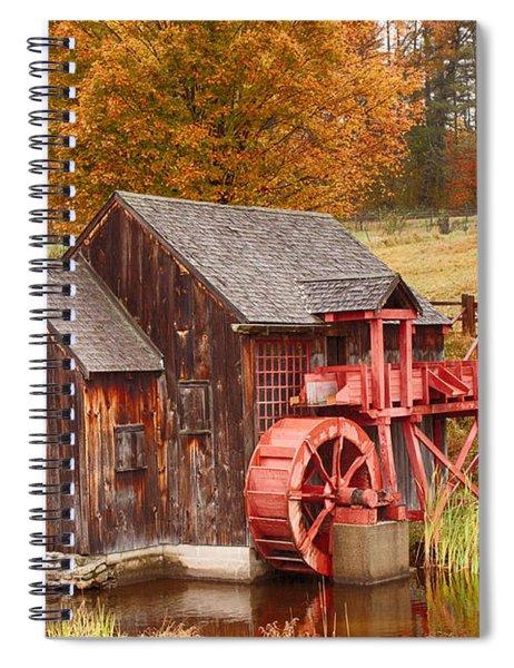Guildhall Grist Mill Spiral Notebook