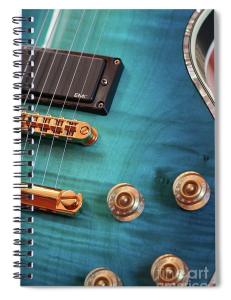 Guitar Blues Spiral Notebook