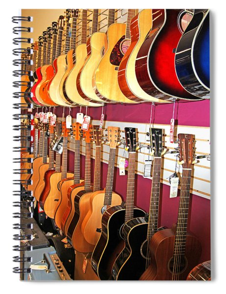 Guitars For Sale Spiral Notebook