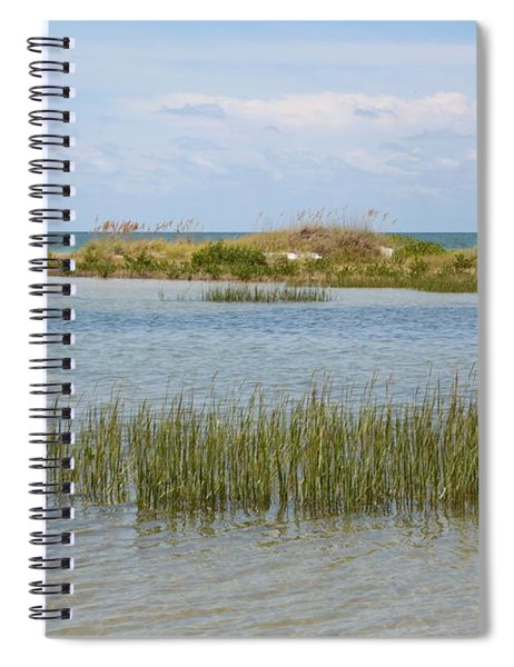 Gulf Coast Serenity Spiral Notebook