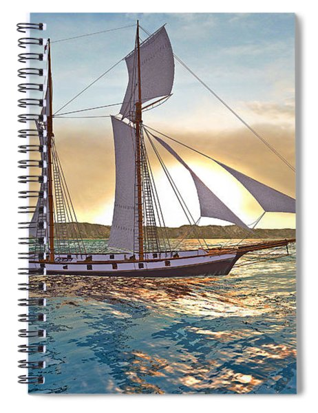 Gulf Of Mexico Area In The World Playground Scenery Project  Spiral Notebook