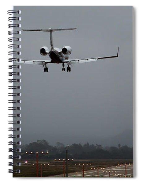 Gulfstream Approach Spiral Notebook