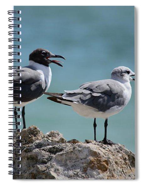 Gull Talk Spiral Notebook