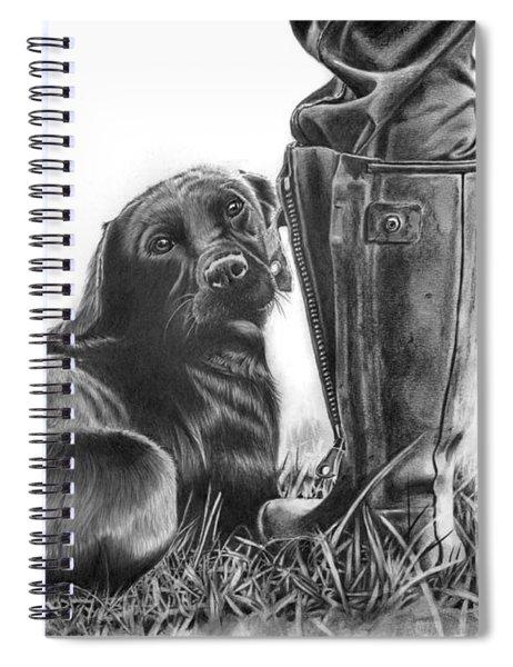 Gun Dog Spiral Notebook