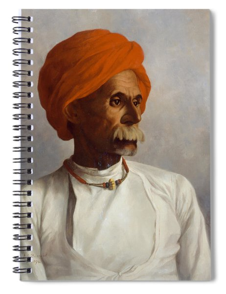 Gunga, A Chaprassee Of Captain S.g Spiral Notebook