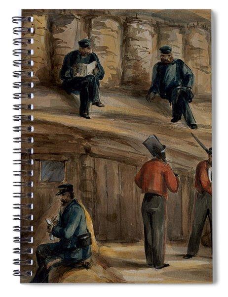 Gunners Of The Royal Regiment Spiral Notebook