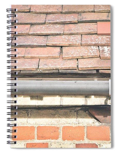Gutter Spiral Notebook