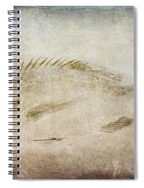 Gyotaku Fish Rubbing Japanese Spiral Notebook