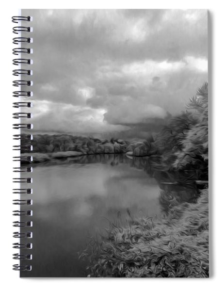 Hackensack River Spiral Notebook