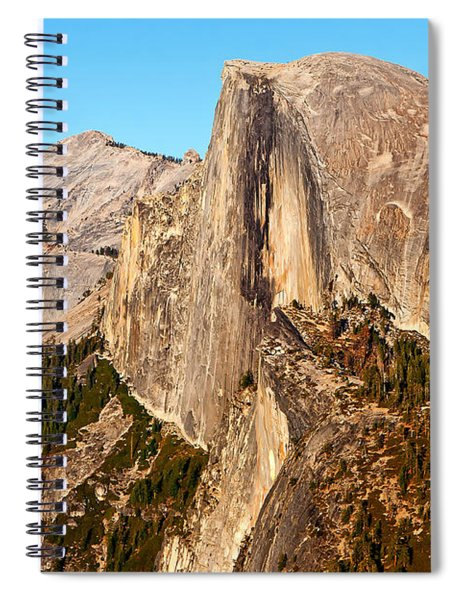 Half Dome Spiral Notebook