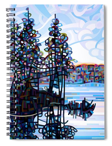 Haliburton Morning Spiral Notebook