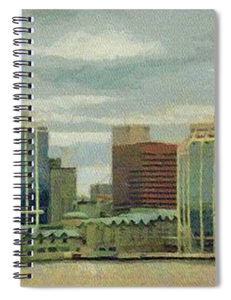 Halifax From The Harbour Spiral Notebook