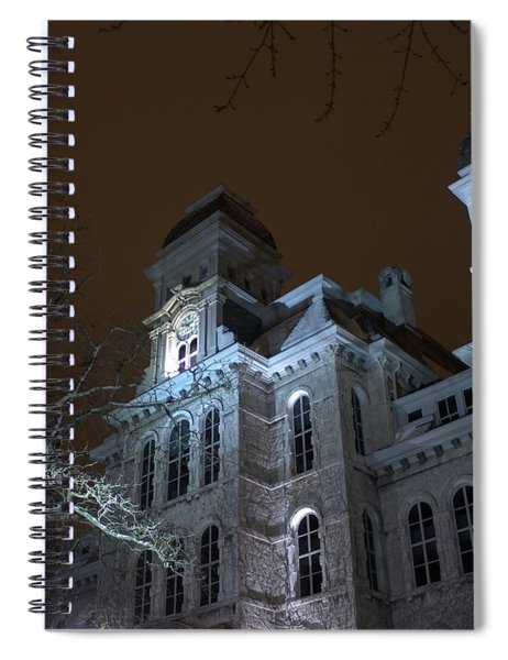 Hall Of Languages Spiral Notebook