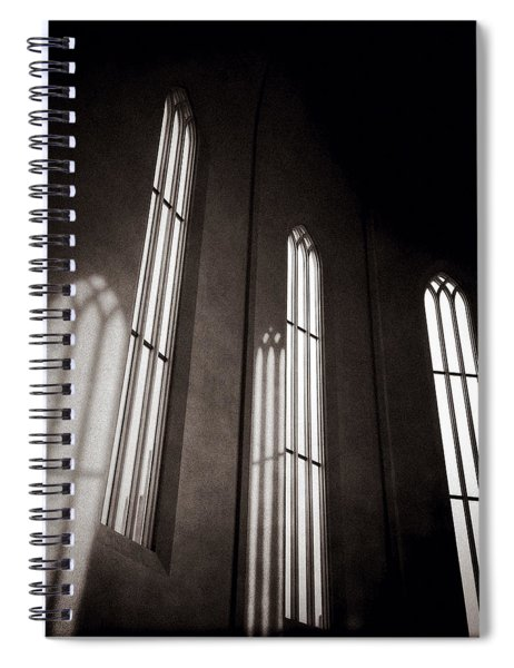 Hallgrimskirkja Windows Spiral Notebook