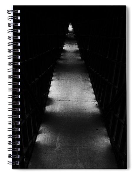 Hallway To Nowhere Spiral Notebook