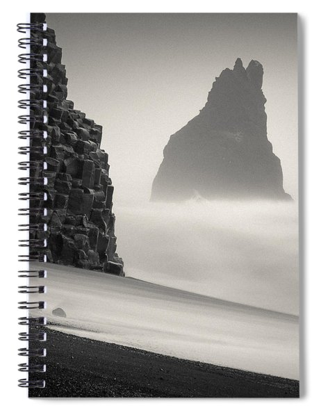 Halsenifs Hellir Sea Stack Spiral Notebook