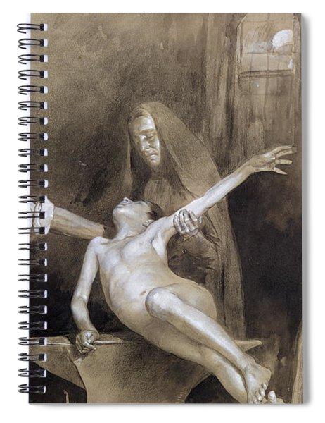 Hammering The Spleen Spiral Notebook