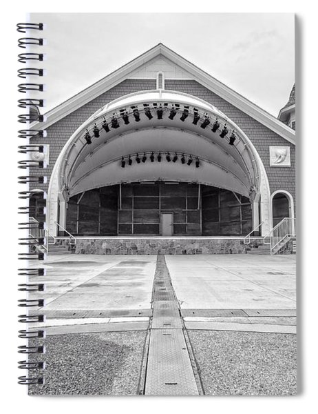 Hampton Beach Bandstand Stage Spiral Notebook