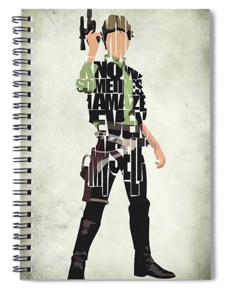Han Solo Vol 2 - Star Wars Spiral Notebook