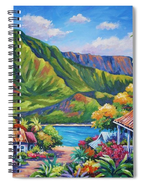 Hanalei In Bloom Spiral Notebook
