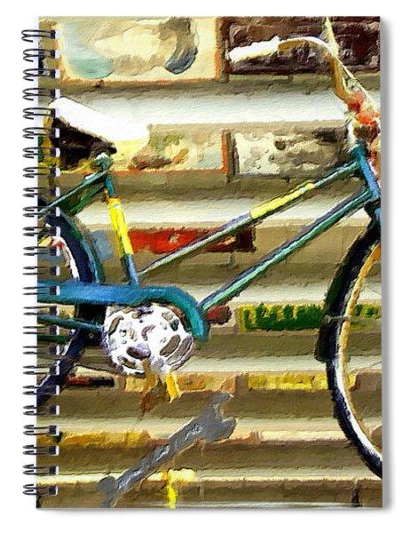 Hanging Bike Spiral Notebook