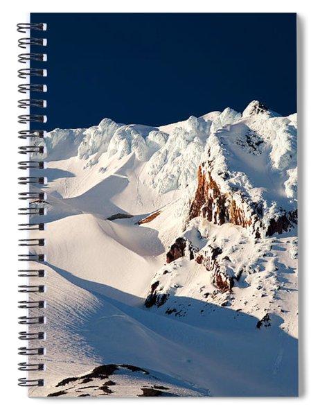 Hanging On Hood Spiral Notebook