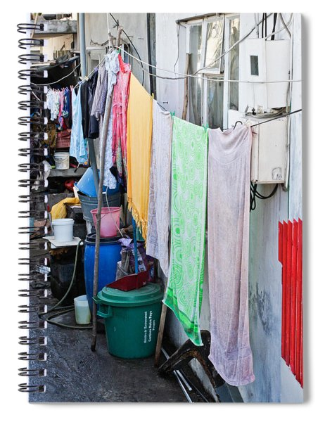 Hanging Towels Spiral Notebook