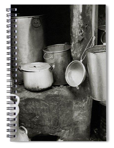 Hanoi Old City Spiral Notebook