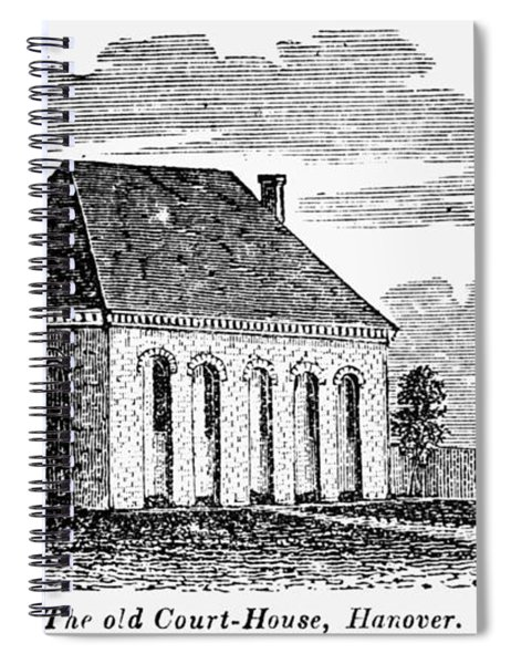 Hanover Courthouse Spiral Notebook
