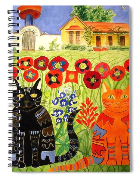 Happy Cats Spiral Notebook