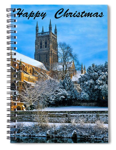 Happy Christmas Photo 2 Spiral Notebook