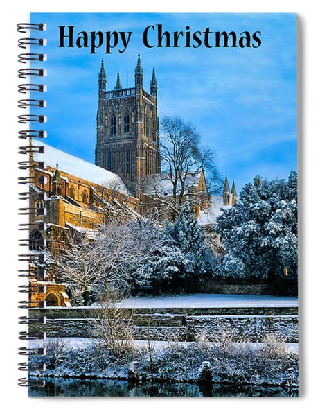 Happy Christmas Photo Spiral Notebook