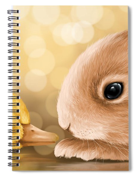 Happy Easter 2014 Spiral Notebook