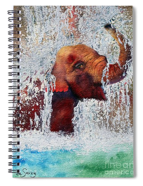 Happy Packy Spiral Notebook