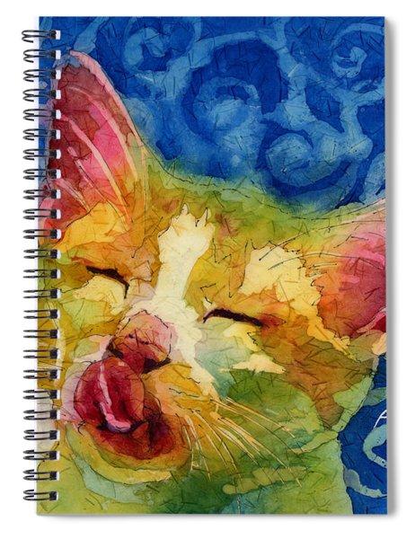 Happy Sunbathing Spiral Notebook