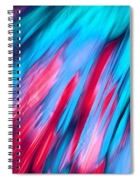 Happy Together Left Side Spiral Notebook