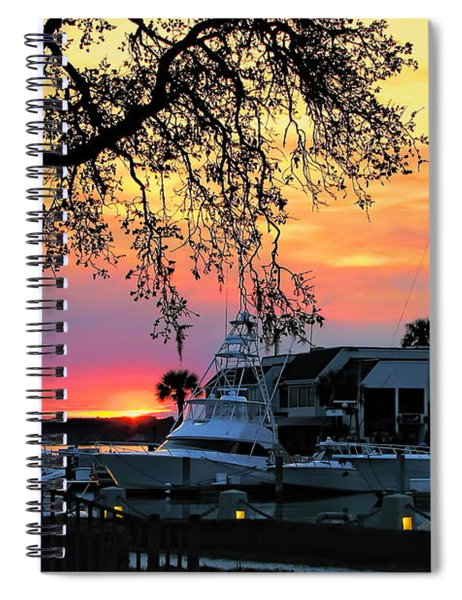 Harbour Town Sundown Spiral Notebook