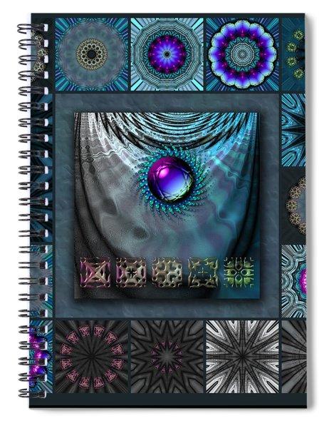 Hardwired Star Redux Spiral Notebook