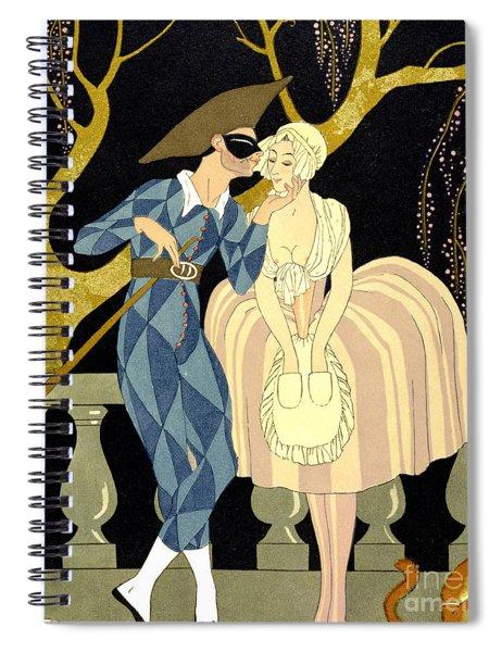 Harlequin's Kiss Spiral Notebook