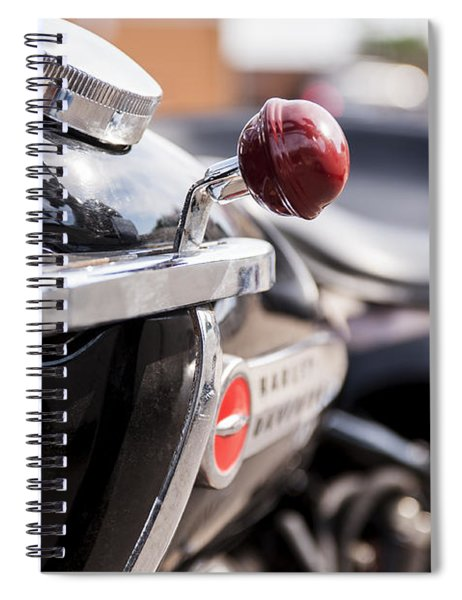 Harley Davidson Jockey Shift Spiral Notebook