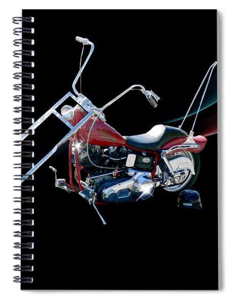 Harley Spiral Notebook